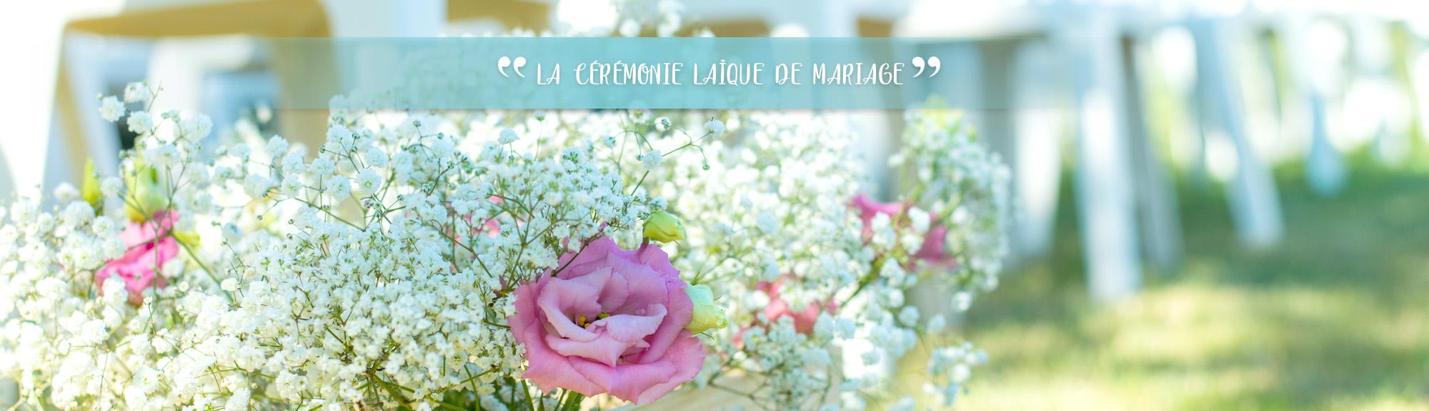 cérémonie laïque de mariage Plume d'un instant