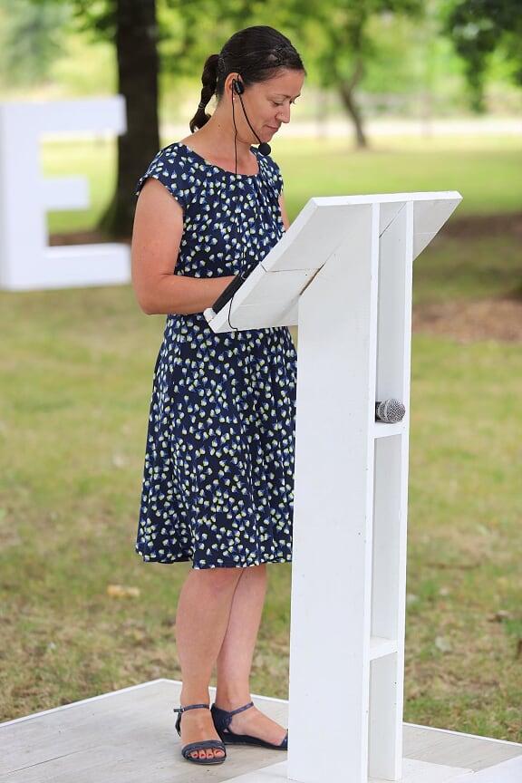 Sandy Plume d'un instant cérémonie laïque