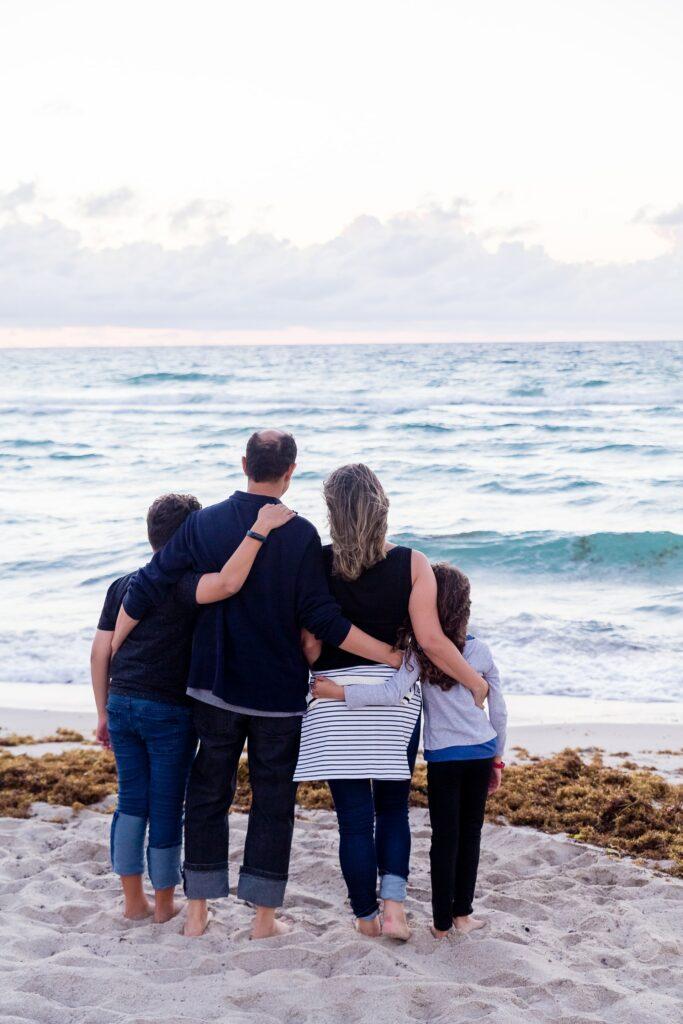 baptême laïque famille